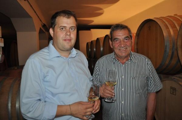 Klaus Lentsch e Soini/Vignaioli di Bronzolo/Notte delle Cantine 2012